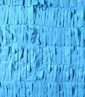 All That Glitters Fabric- Fringed Chiffon Smoky Blue