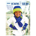 Kwik Sew Pattern K3904 Children\u0027s Hat, Mittens & Scarves-Size XS-XL
