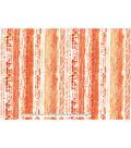 Keepsake Calico Cotton Fabric-Tie Dye Stripe Orange