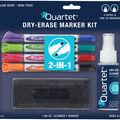 Quartet 2-in-1 Dry-Erase Kit w/Marker, Eraser, Cleaner-W/Chisel Tip