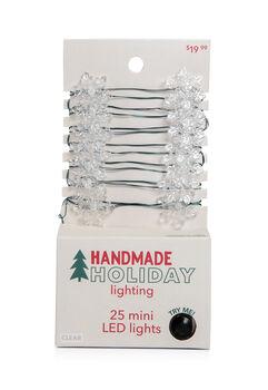 Handmade Holiday Lighting Christmas Snowflake LED Clear Light Strand