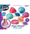 Cra-Z-Art Shimmer \u0027n Sparkle Magic Mermaid Shell Art Kit