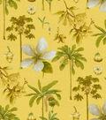 Williamsburg Lightweight Decor Fabric-Catesby Palm Cornsilk
