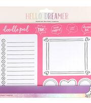 American Crafts Hello Dreamer 50-sheet Doodle Paper Pad, , hi-res