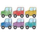 Creative Teaching Press Safari Off-Road Vehicles 6\u0022, 36/Pack, 3 Packs