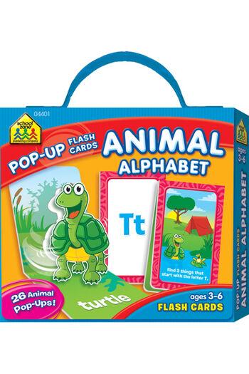 Pop-Up Flash Cards-Alphabet