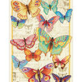 Gold Collection Butterfly Beauty Counted Cross Stitch Kit