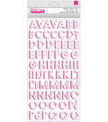 Summer Lights Thickers Stickers 5.5\u0022X11\u0022-Holographic Foil Alpha