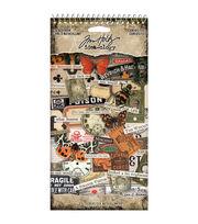 Idea-Ology Sticker Book 4.5''X8.75''-Curiosities, 315/Pkg, , hi-res