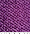 Velvet Flocked Sequin Fabric 55\u0022-Blackberry Wine
