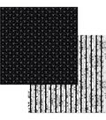 BoBunny Black Tie Affair 12\u0027\u0027x12\u0027\u0027 Double-Sided Cardstock-Sophistication