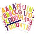 Sticko Futura Regular XL Glitter Alphabet Stickers-Bright & Multi