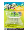 AirBrainz Airbrush Clip Caps 2/Pkg-Lime