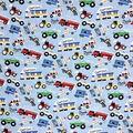 Novelty Cotton Fabric 43\u0022-Beep Honk Vroom