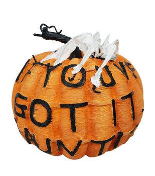 Maker's Halloween Large Spooky Fashion Pumpkin-Haunt It