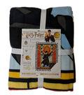 Harry Potter No Sew Fleece Throw 72\u0022-Stained Glass