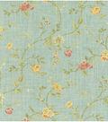 Home Decor 8\u0022x8\u0022 Fabric Swatch-Waverly Garden Glitz Cir Vapor