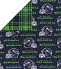 Seattle Seahawks Double Faced Quilt Fabric