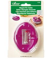 Clover Needlecraft Magnet Pin Caddy Bordeaux, , hi-res