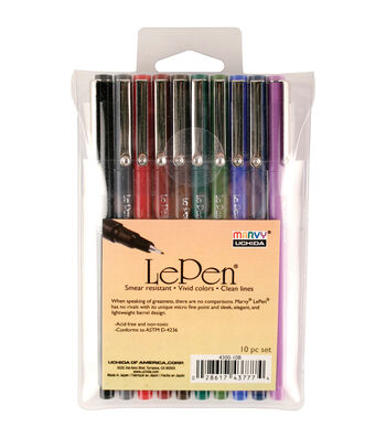 Marvy Uchida 10 pk LePens-Dark Colors