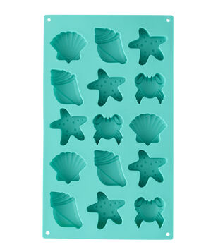 Wilton Seashell Silicone Candy Mold