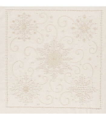 Janlynn Snowflakes Candlewicking Embroidery Kit