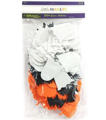 Little Maker's Mixed Foam Stickers-Halloween