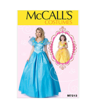 McCall's Mother & Daughter Costumes-M7213