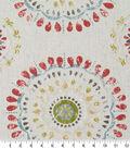 Robert Allen @ Home Print Swatch 54\u0022-Color Wheel Coral