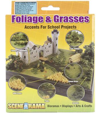 Scene-A-Rama Foliage & Grasses Diorama Kit