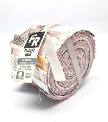 Jelly Roll Cotton Fabric 20 Strips 2.5''-Vintage Floral Keys