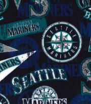 Seattle Mariners Fleece Fabric-Vintage, , hi-res