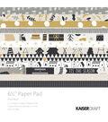 Kaisercraft Paper Pad 6.5\u0022X6.5\u0022 40/Pkg-First Noel