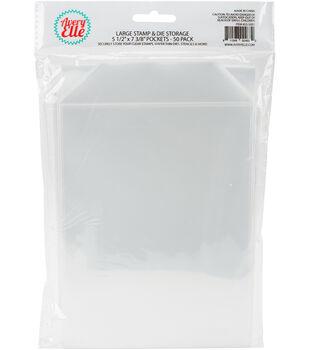 Avery Elle Stamp & Die Large Storage Pockets 50 Pack