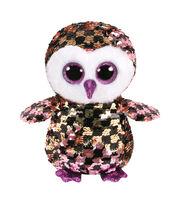 TY Beanie Boo Sequin Owl-Checks, , hi-res