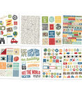 Simple Stories Travel Notes 8 pk 4\u0027\u0027x6\u0027\u0027 Stickers