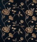 Home Decor 8\u0022x8\u0022 Fabric Swatch-Print Fabric Eaton Square Rhodes Navy