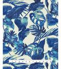Tommy Bahama Outdoor Fabric 54\u0022- Inky Palms Indigo