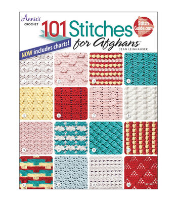 101 Stitches for Afghans Book