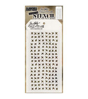 Stampers Anonymous Tim Holtz 4.13''x8.5'' Layering Stencil-Stitched, , hi-res