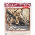 Leopard Counted Cross Stitch Kit 10 Count
