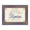 Hayes General Diploma, Blue & Gold Art Deco, 30 Per Pack, 6 Packs