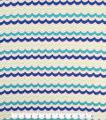 Doodles Cotton Fabric -Curvy Wave
