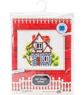 RTO Counted Cross Stitch Kit with Plywood Form-My Sweet Home II