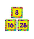 Busy Kids Learning Calendar Accents-Brite Polka Dot