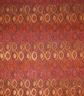Home Decor 8\u0022x8\u0022 Fabric Swatch-Upholstery Fabric Barrow M8589-5410 Guava