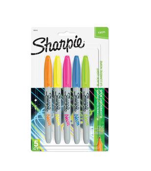 Sharpie Fine Point Neon Markers 5ct