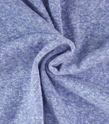 """French Terry Fabric 57""""-Blue Print"""
