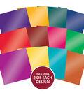 Hunkydory Crafts 8\u0027\u0027x8\u0027\u0027 Marvellous Mirri Paper Pad-Brilliant Brights