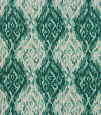 """Solarium Outdoor Fabric 54""""-Lakat Peacock"""